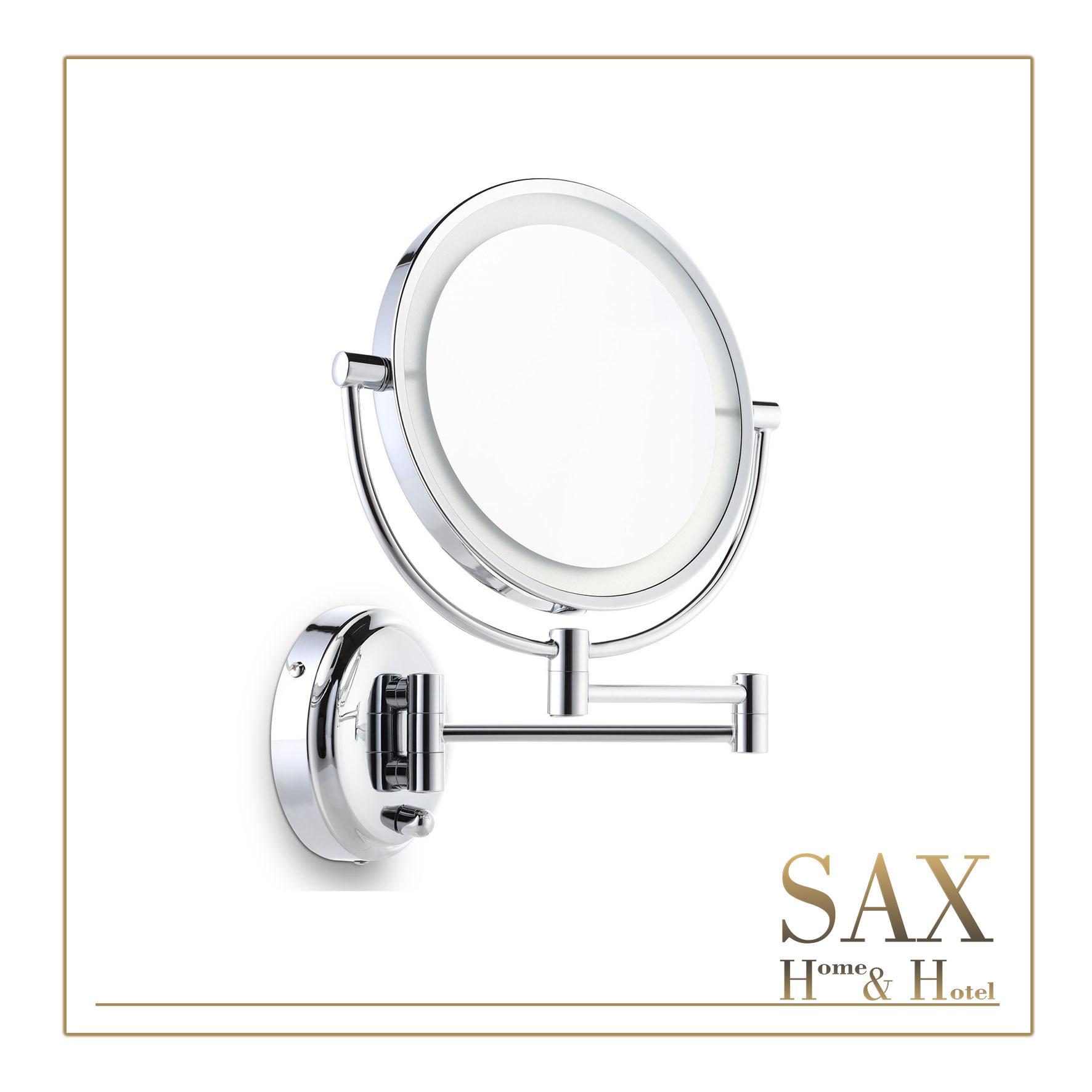 sax kozmetičko ogledalo zidno